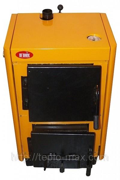 ОГОНЕК КОТВ 10 кВт. Твердотопливный котел производства ООО Старобельский Машзавод