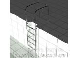 Ограждения и поручни для бассейнов из нержавеющей стали, артикул 02-09-0006