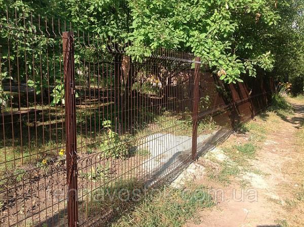 Ограждения и забор сварной, секционный для дома, дачи, сада