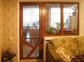 Окна, балконные блоки в цвете