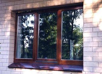 Окна деревянные из клеенного бруса