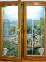 Окна деревянные из срощеного соснового бруса