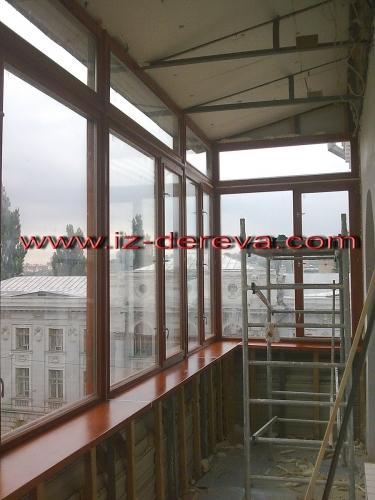 Окна деревянные стеклопакет