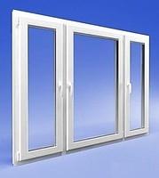 Окна и двери метллопластиковые 1750х1360