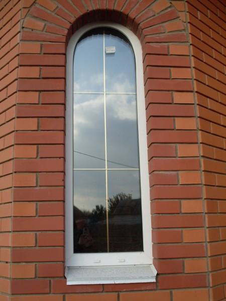 Окна металопластиковые, ламинированые, арочные, трапеции.