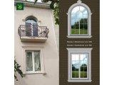 Фото 1 Оформлення вікон на фасаді будинку, фасадний декор акція 339172