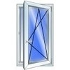 Окно 900на 1400 поворотно откидное стоимость указана с установкой . Доставка и демонтаж бесплатно по Киевской области