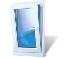 Окно с одной створкой из профиля Classicline 400, шир800 выс1300 с фурнитурой Siegenia, однокамерным стеклопакетом .