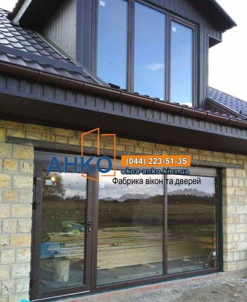 Фото 1 Алюминиевые окна от производителя лучшие цены в Броварах 2692