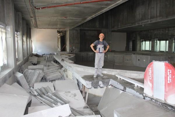 оконные и дверные проёмы корректировочные работы резание вплотную к стене, полу, потолку