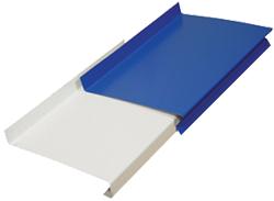 Оконные отливы покрытие полиэстер - производство, продажа, монтаж. Цена за развёртку 0,250*2 метровую.