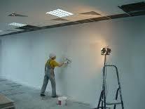 Окраска водными составами внутри помещений
