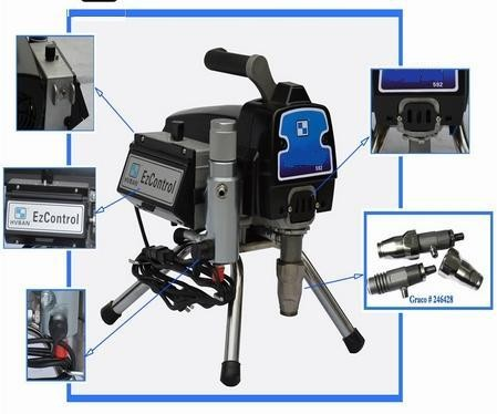 Окрасочный агрегат высокого давления с безщеточным двигателем EP-310 (graco ULtraMax 495)