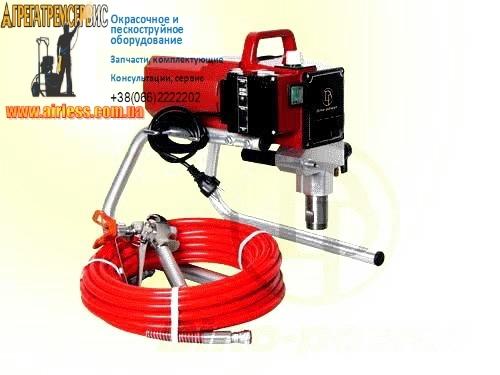 Окрасочное оборудование поршневой агрегат Airless 6389, 1,8L