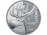 Фото  1 Олень серебро монета 5 грн 2016 1973752