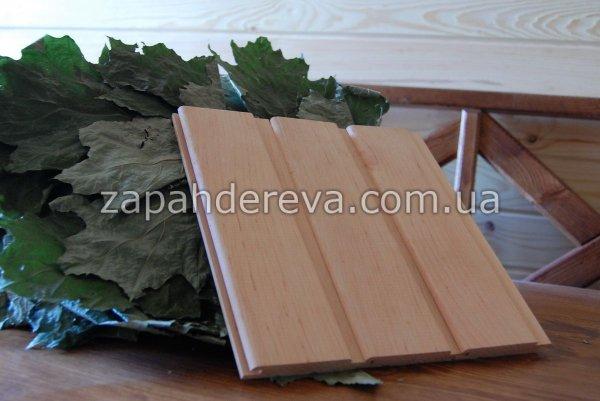 Фото 3 Вагонка вільха Костопіль – для сауни та бані 327116