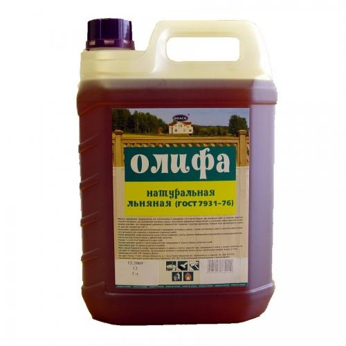 Олифа оксоль, натуральная