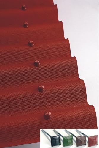 Ондулин – это битумный кровельный лист, который имеет волнистую форму.