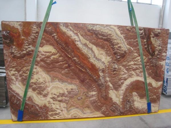 Оникс Италия со склада и под заказ Оникс Viola, панно из оникса - визуализация, изготовление и монтаж
