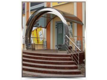 ооо Металлист- перила из нержавейки в Симферополе и Крыму, металлоконструкции.
