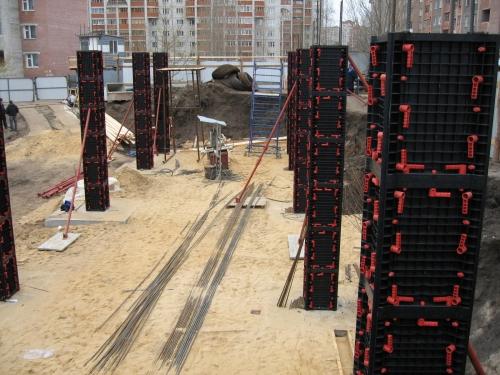Опалубка для сооружения Квадратных колонн 400Х400мм высота 3м