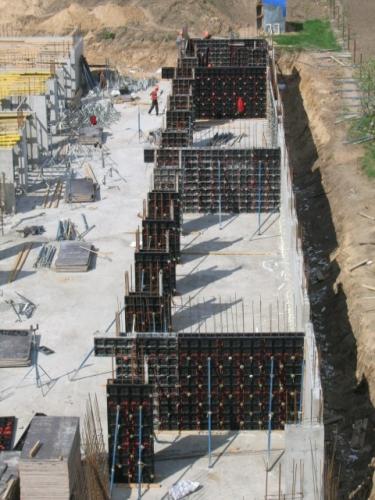 Опалубка пластиковая. Стены, фундаменты, перекрытия, пилоны.