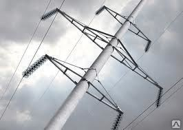 Опора троллейбусной линии электропередачи 11000мм