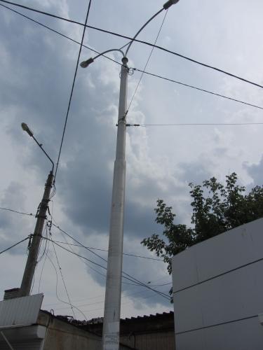 Опоры контактной сети 10 метров. Вес 510кг.