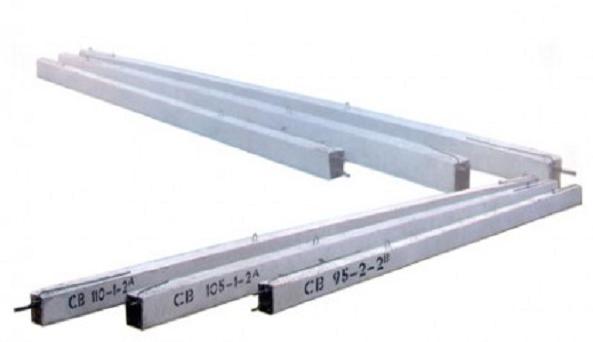 Опоры линий э/п СНВ 7,5-2 размер 7500х220х165 мм