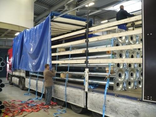 Опоры освещения высотой 7 метров, толщина стенки 3мм. EUROPOLES