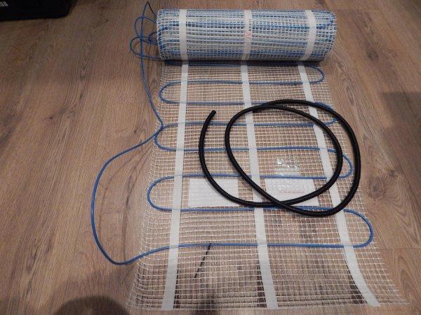 Фото  1 Мат нагревательный Millimat/150 12,0м.кв., 1800Вт, Nexans (Норвегия) 1869721