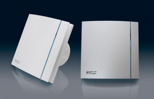 Осевой вентилятор малошумный Silent 100 cz design