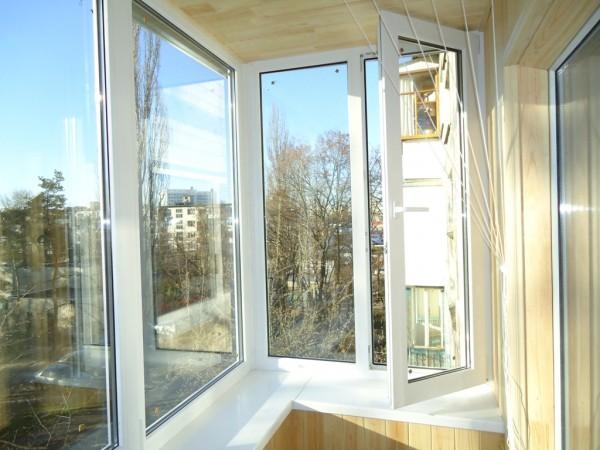 Остекление балконов под ключ цена 850 грн. купить в киеве фо.