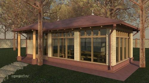 Остекление беседок, веранд, барбекю алюминиевыми раздвижными, складывающимися (гармошка) дверьми и окнами.
