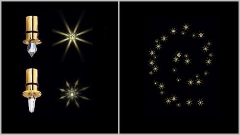 Осветлительная система ORION 35 звезд, на основе оптоволокна