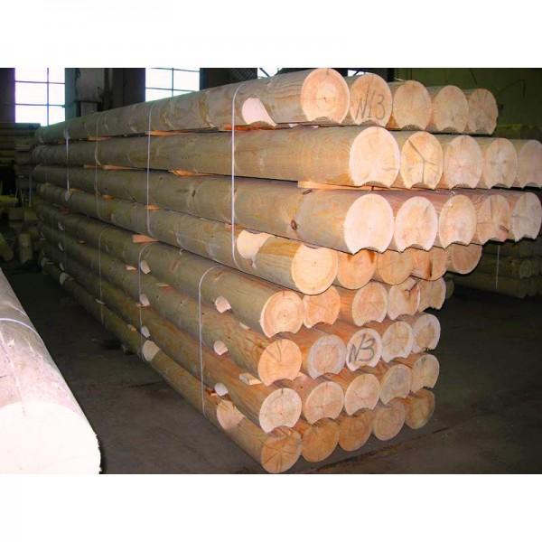 Оцилиндрованное бревно(сосна/смерека ) 160-330