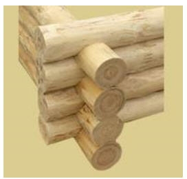 Oцилиндрованное строганое бревно-производим. Строительство деревянных домов из оцилиндрованного бревна разного диаметра.
