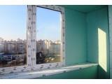 Отделка стен балкона гипсокартоном под обои