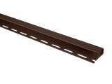 Фото  1 Отделочная планка для откосов Альта-Профиль 3 м коричневый 2035514