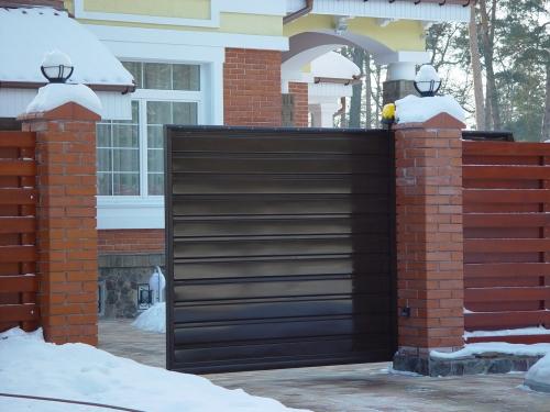 откатные ворота размер 1700х4000