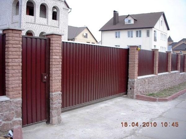 Откатные ворота http://altavorota. com. ua/otkatnye-vorota. html