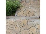 Фото  1 Отлив Золотой Мандарин 500х200х60 мм на сером цементе персиковый 2037897