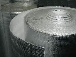 Отражающая изоляция Теплоизол 10 мм самоклейка (полотно ППЕ фольгированное)