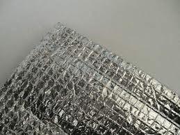 Отражающая изоляция Теплоизол 8 мм самоклейка (полотно ППЕ, ламинированное металлизированной пленкой).