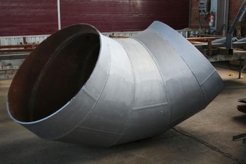 Отвод (колено) сварное секторное Ф 820 мм