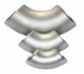 Отвод нержавеющий, марка стали 12Х18Н10Т, бесшовный, крутоизогнутый, ГОСТ 17375-83, радиус изгиба R=1,5xD: 76х5.