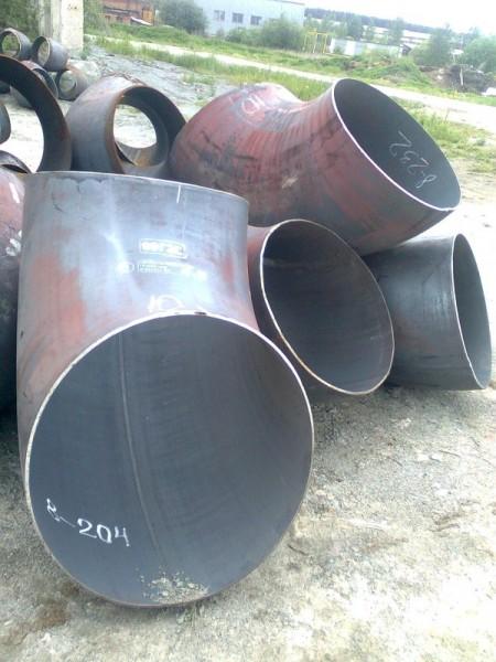 Отвод стальной 90 Ст.20 ф 125/133*4,0 мм