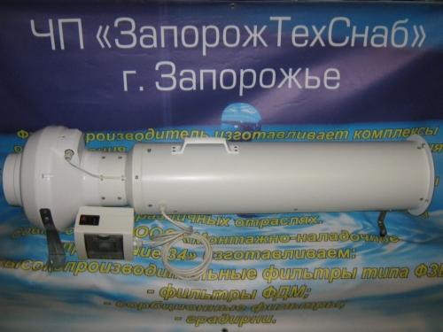 Озонатор 20гО3/ч для дезинфекции ёмкостей на предприятиях молочной и сырной промышленности.