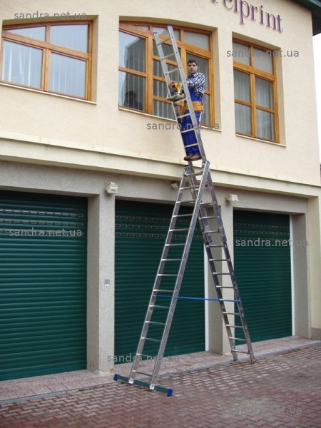 Фото  1 лестница алюминиевая цена 3х17 65550