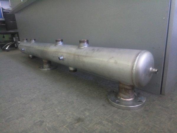Фото 2 Гидрострелка для твердотопливного котла 328528